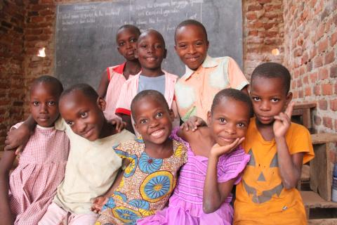 Portraits of children in Iganga District